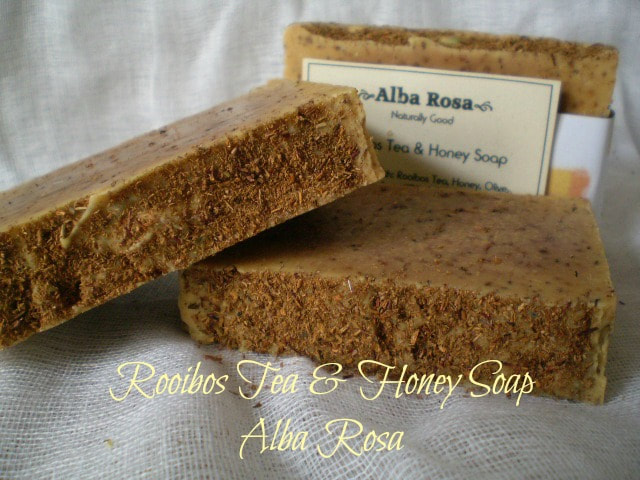 Rooibos Tea and Honey Soap